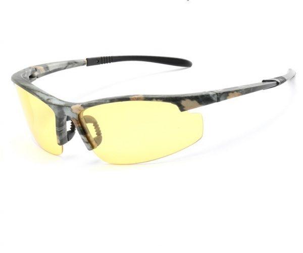 Štýlové pánske polarizované okuliare pre šoférov na nočnú jazdu