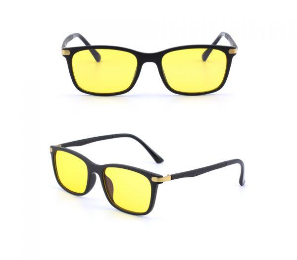Flexibilné pánske okuliare na prácu s počítačom aj na nočné šoférovanie