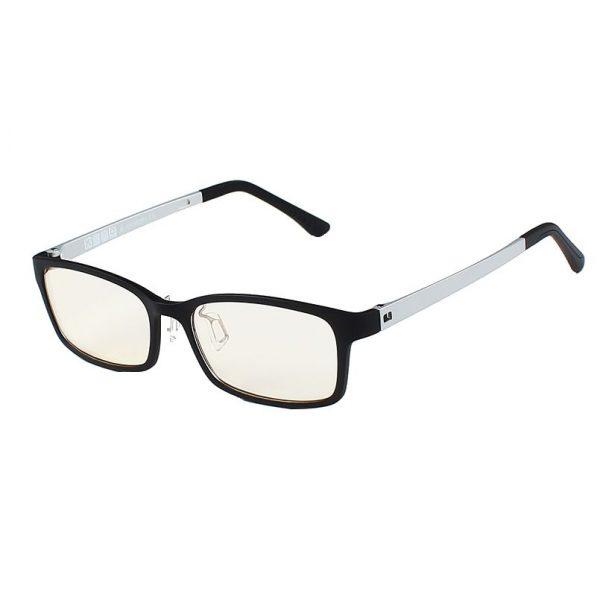 Štýlové pánske okuliare na prácu s počítačom - strieborno-biele