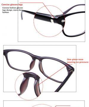 Kvalitné pánske okuliare na počítač v luxusnom retro štýle