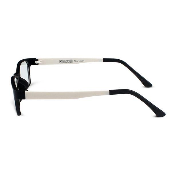 Kvalitné pánske okuliare na prácu s počítačom s ľahčeným bielym rámikom