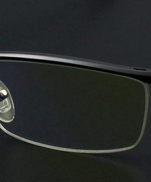 Luxusné pánske okuliare počítač štýlovom čiernom spracovaní