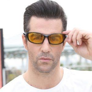 Luxusné polarizované okuliare pre šoférov na jazdu v noci 53bc5c314df