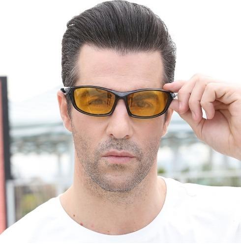 Luxusné polarizované okuliare pre šoférov na jazdu v noci