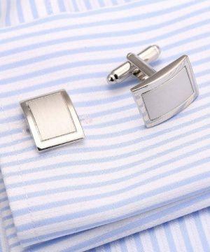 Luxusný pánsky set - manžetové gombíky a kravatová spona model02
