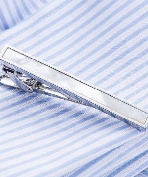 Luxusný pánsky set - manžetové gombíky a kravatová spona model06