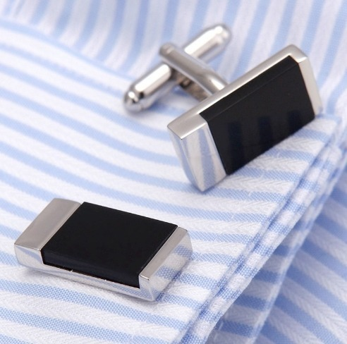 Luxusný pánsky set - manžetové gombíky a kravatová spona model10