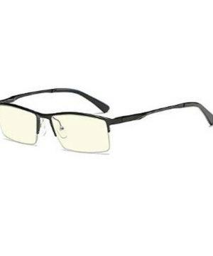 Luxusné pánske okuliare na počítač v modernom dizajne - čierne