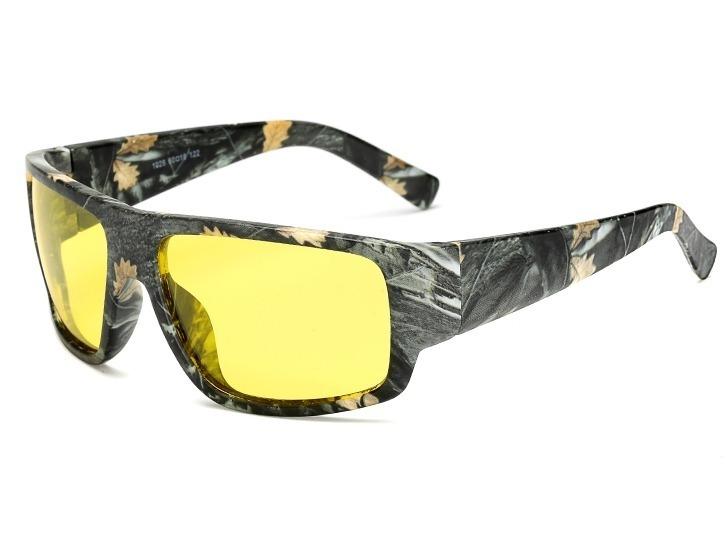 Maskáčové polarizované okuliare na šoférovanie v noci a v hmle 267bfc8bead