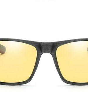 Moderné pánske polarizované okuliare do auta na noc a do hmly