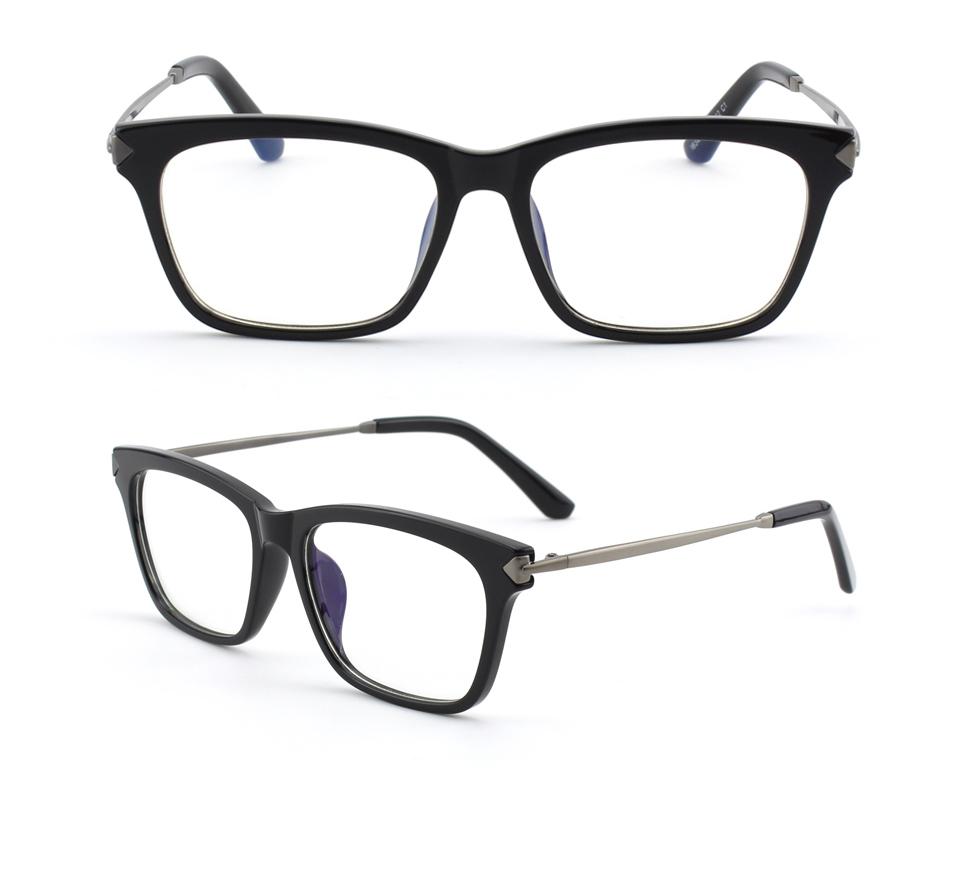 Odľahčené pánske okuliare na počítač s flexibilným sivo-čiernym rámom 941995cf85a