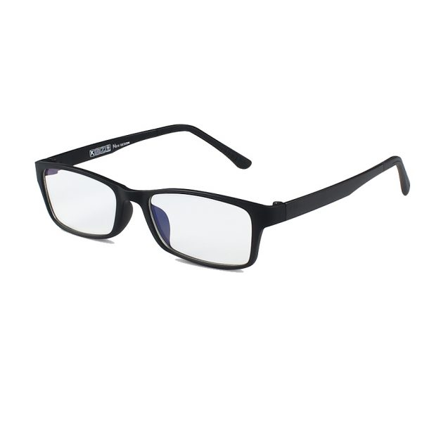 Kvalitné pánske okuliare na prácu s počítačom s ľahčeným čiernym rámikom