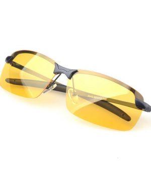 Špeciálne pánske okuliare pre šoférov s čiernym rámikom