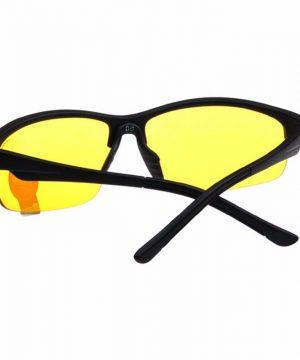 Pánske okuliare pre šoférov na jazdu v noci s ľahčeným rámom