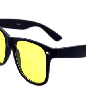Pánske okuliare pre šoférov na jazdu v noci v decentnom prevedení