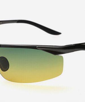 Pánske polarizované okuliare pre šoférov s tónovanými sklami - čierne