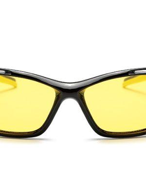 Športové pánske polarizované okuliare pre šoférov na noc a do hmly