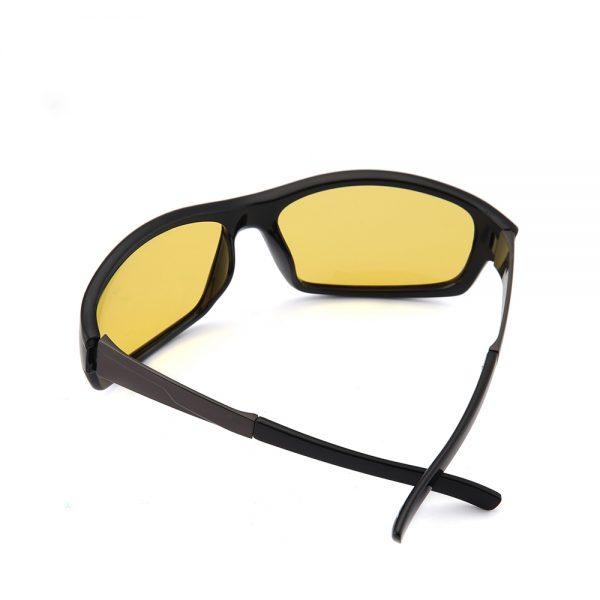 Štýlové pánske okuliare na nočnú jazdu s polarizovanými sklami
