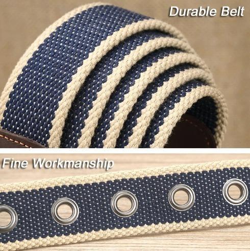 Pletený pánsky opasok s kvalitným spracovaním vo viacerých vzoroch
