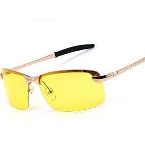 Zlaté polarizované okuliare pre šoféra na noc a do hmly ... 0822a28da5b