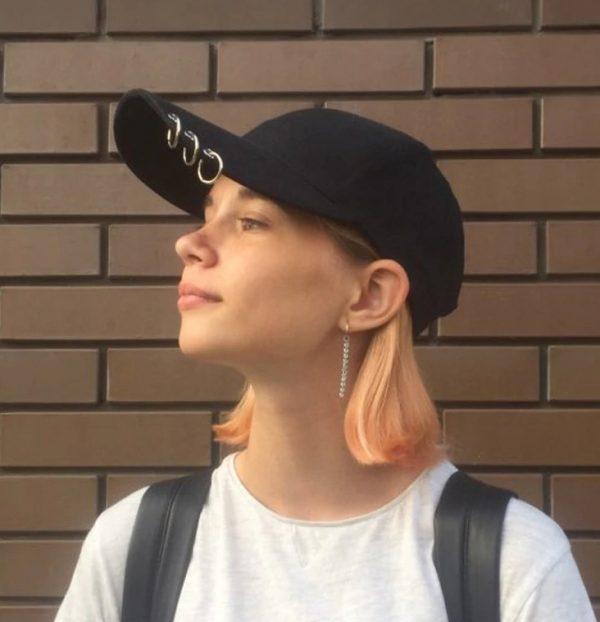 Kvalitná unisex šiltovka s piercingom, model rebel v troch farbách