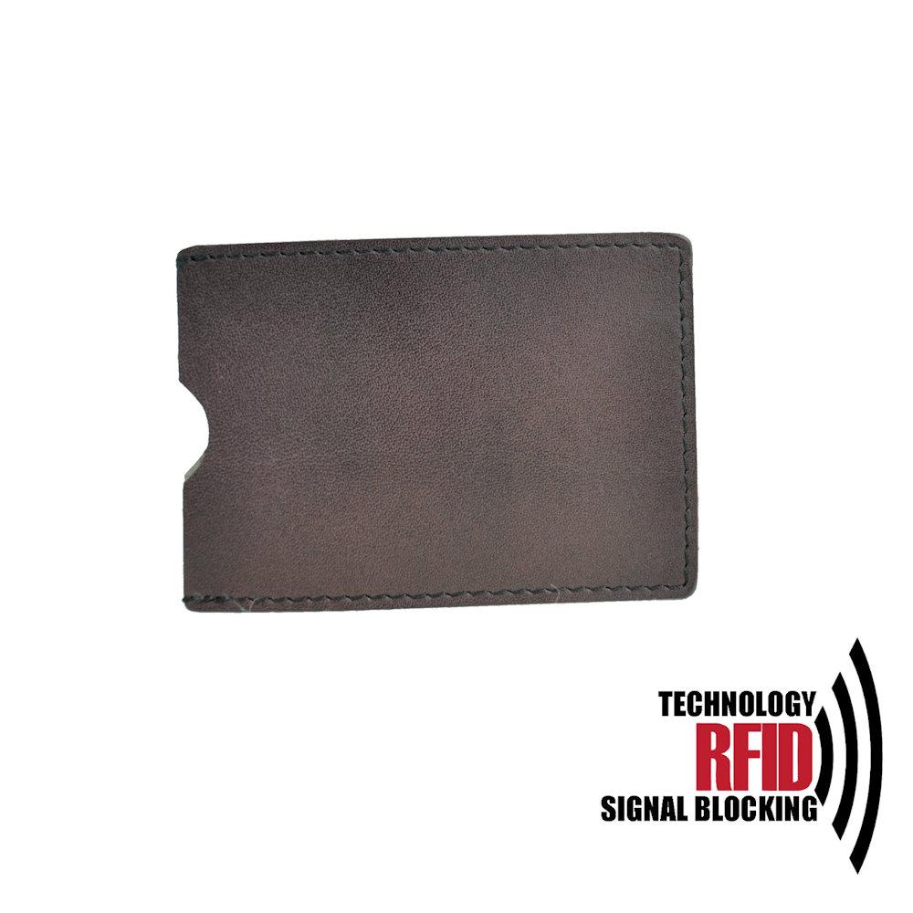 Ochranné kožené púzdro na debetné a kreditné karty 89bf06da50c