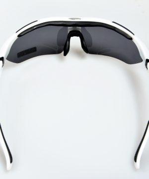 Športové polarizované okuliare s 5 vymeniteľnými viac-účelovými sklami - biele