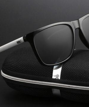 Štýlové polarizované pánske slnečné okuliare
