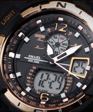 Masívne pánske hodinky z chirurgickej ocele v niekoľkých farbách