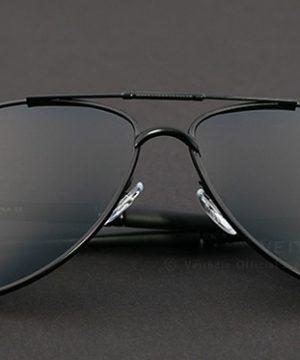 Pánske polarizované slnečné okuliare - čierne pilotky