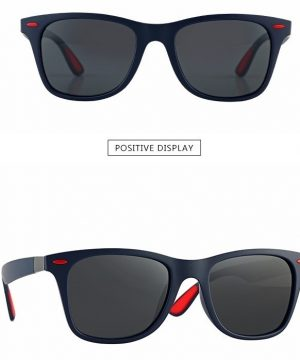 Retro pánske polarizované slnečné okuliare v dvoch farbách