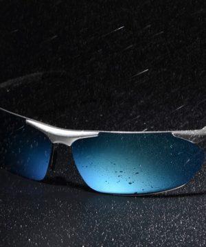 737f13bfd Vysoko polarizované športové slnečné okuliare so zlatým rámikom
