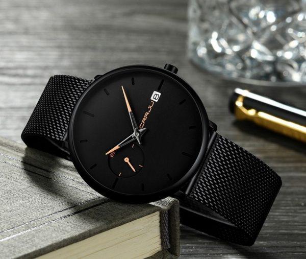 Elegantné pánske analógové hodinky vo viacerých prevedeniach