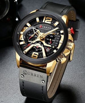 Luxusné pánske analógové hodinky v dvoch farbách