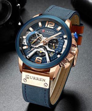 2219ffea2 Luxusné pánske analógové hodinky v dvoch farbách ...