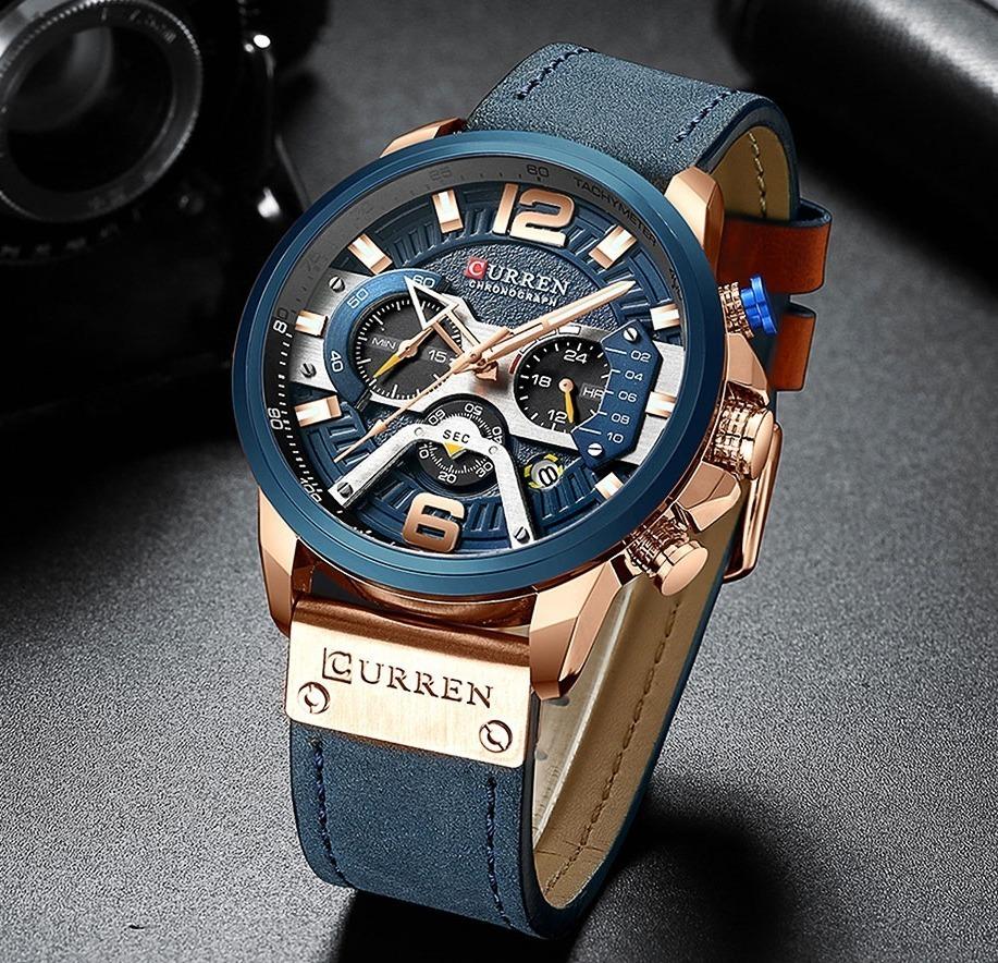 12cc2c36f Luxusné pánske analógové hodinky v dvoch farbách