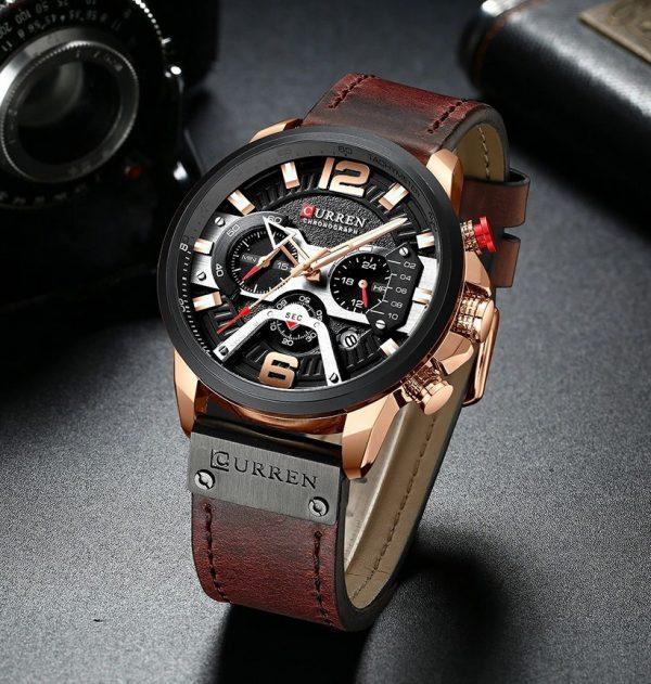 Luxusné pánske analógové hodinky v troch farbách