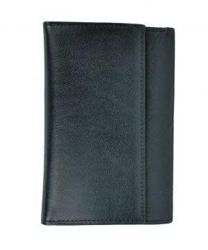 Elegantná peňaženka z pravej kože č.8559 v čiernej farbe. Len u nás Vám ponúkame krásne a dizajnovo moderné dámske a pánske kožené peňaženky (2)