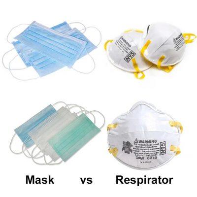 Ochrana proti COVID-19 - Chirurgické rúška, respirátory