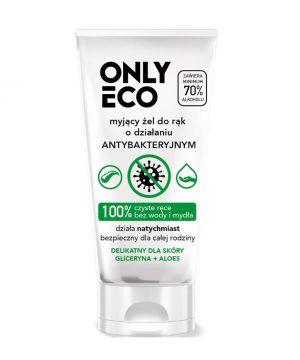 Antibakteriálny gél na ruky s Aloe Vera, 50 ml