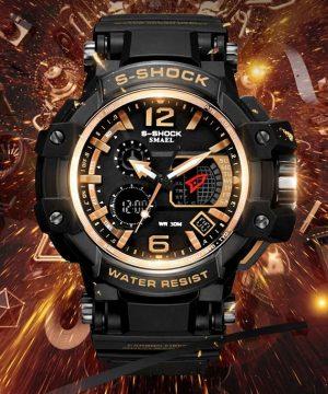 Športové masívne pánske hodinky v niekoľkých farbách