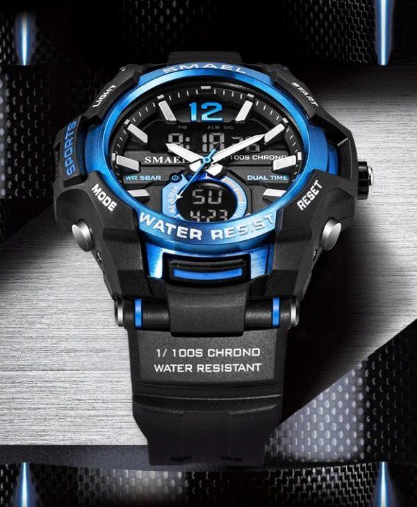 Športové pánske hodinky v niekoľkých farbách