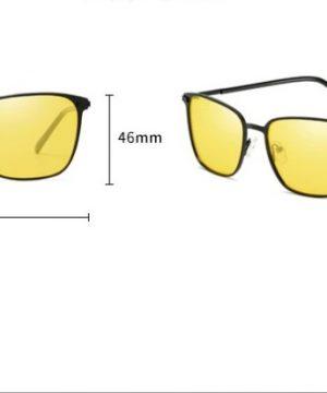Decentné polarizované okuliare na šoférovanie s tenkým rámikom