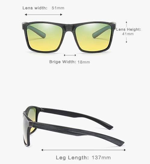Tieňované polarizované okuliare na jazdu v noci aj cez deň