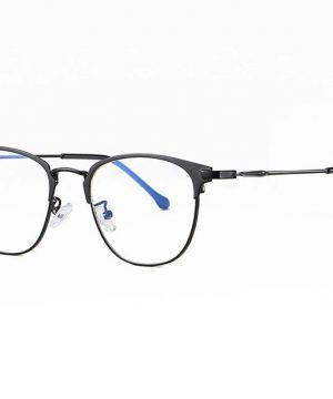 Praktické okuliare s filtrom proti žiareniu monitora - čierny rámik