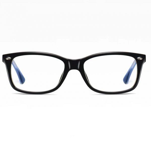 Retro okuliare na prácu na počítači s ochranným filtrom