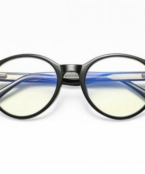 Retro okuliare na prácu s počítačom s ochranným filtrom