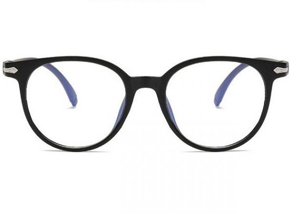 Retro okuliare s filtrom na prácu na počítači