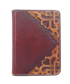Ručne vyklepávaný, tvarovaný a reliéfny kožený diár - Kronika