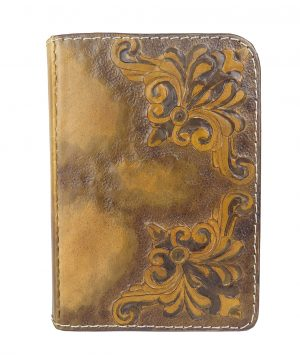 Ručne vyklepávaný, tvarovaný a reliéfny kožený diár - Zlatá kronika